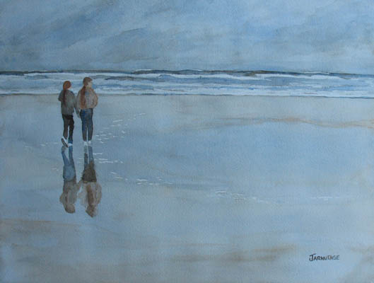 Low Tide at Agate Beach (12 x 16) $200