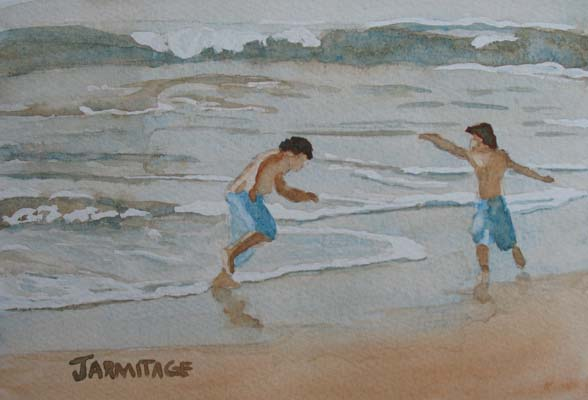 Surf Dance (5 x 7) $30.00
