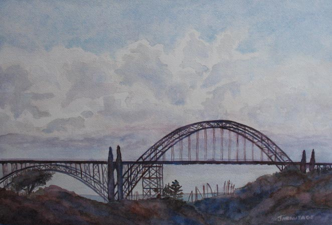 The Newport Bay Bridge I (13 x 19) $200