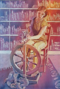 Spinning Tales, by Jenny Armitage