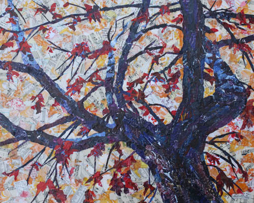 Fall Remnants, Original Artwork by Jenny Armitage