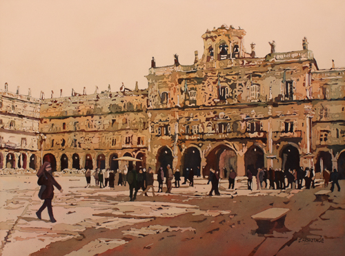 The Heart of Salamanca, Original Painting by Jenny Armitage