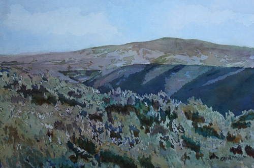 Sage Brush Spring, Original Painting of Idaho by Jenny Armitage